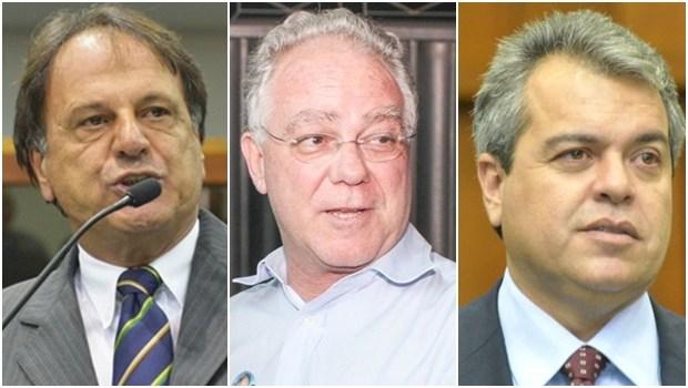 Adib (catalão), Paulo Vale (Rio Verde), e Ernesto Roller (Formosa) querem apoiar Caiado para governador
